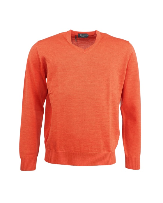 Herren V-Pullover Superwash Classic Fit