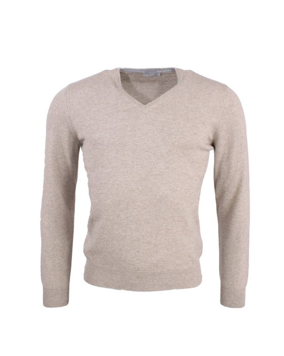 Cashmere Wolle Pullover V-Neck