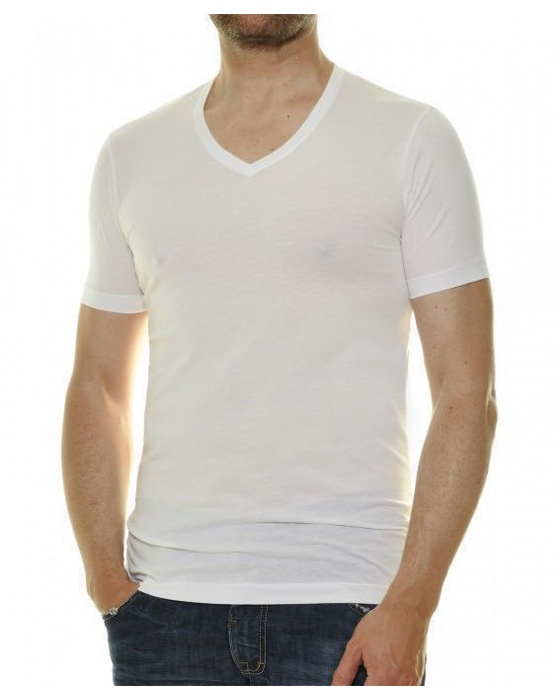 Doppelpack Body fit T-Shirt