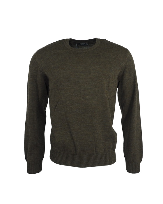 Herren Pullover Rundhals Superwash Classic Fit