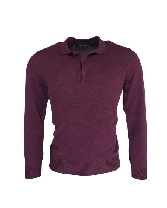 Herren Pullover Polokragen Superwash Classic Fit